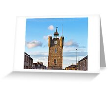 DUFFTOWN THE CLOCK TOWER Greeting Card
