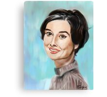 A face from past Canvas Print