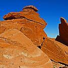 Arizona Red Rocks by Chet  King