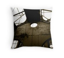 Won't keep the rain out Throw Pillow