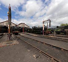 Didcot Railway Yard II by Simon Lawrence
