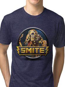 Smite Sobek Logo Tri-blend T-Shirt