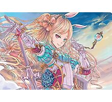 Force of Will - Alice, the Valkyrie of Fairy Tales Photographic Print