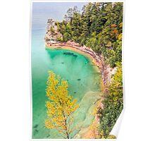 Miner's Castle on Lake Superior Poster