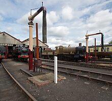 Didcot Railway Yard III by Simon Lawrence