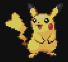 Pixel Pikachu by Flaaffy