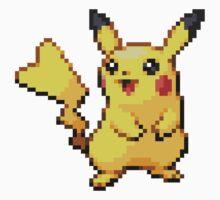 Pixel Pikachu Kids Clothes