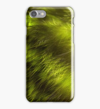Yellow Feathers iPhone Case/Skin