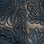 Worn Vintage Embossed Leather by pjwuebker