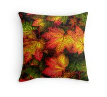 Pop Out ~ Leaves Vine Maple ~ Throw Pillow