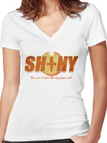 Shiny- You can't take the sky from me! Women's Fitted V-Neck T-Shirt