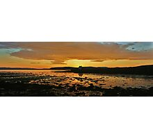 Bay Of Tranquility - Mellow Yellow Photographic Print