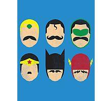 Mustache League of America Photographic Print