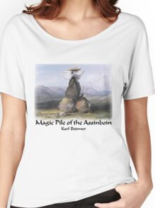 Karl Bodner - Magic Pile of Assinboin Indians Women's Relaxed Fit T-Shirt