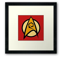 Star Trek TOS, Engineering Framed Print