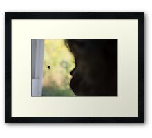 The void part two Framed Print