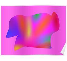 Rainbow Color Art Poster