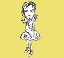 Bjork cartoon (plain) by Pat-Pot  Designs