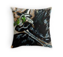 Pendle Hill Witch #7 Throw Pillow