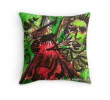 Pendle  Hill Witch #2 Throw Pillow