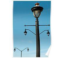 Lamp Posts Poster