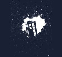 Doctor Who Tardis by Jasmine Curtis