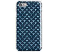 Vintage Baroque Blue Wallpaper iPhone Case/Skin