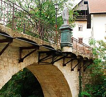 Capuchin's Bridge in Skofja Loka 3 by jojobob
