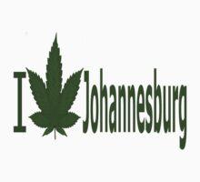 0075 I Love Johannesburg by Ganjastan
