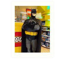 Batman Lego, FAO Schwarz Toy Store, New York City Art Print