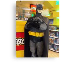 Batman Lego, FAO Schwarz Toy Store, New York City Metal Print