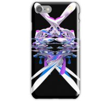 Purple Blue and White 3D Splash iPhone Case/Skin