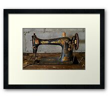 Sew what ? Framed Print