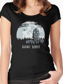 Giant Robot Women's Fitted Scoop T-Shirt