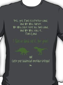 curse your sudden but inevitable betrayal, green, firefly T-Shirt