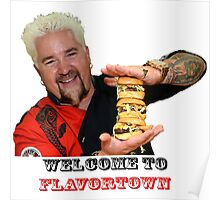 Guy Fieri Sliders Poster