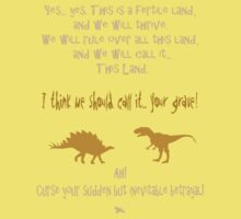 curse your sudden but inevitable betrayal, firefly, mustard Kids Tee