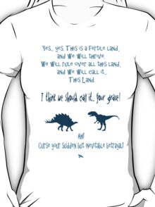 curse your sudden but inevitable betrayal, firefly, blue T-Shirt