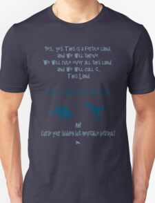 curse your sudden but inevitable betrayal, firefly, blue Unisex T-Shirt