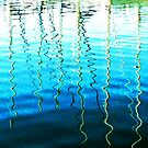 Water reflections by George Hunter