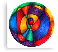Fiesta Mandala - Full-Color Print Canvas Print