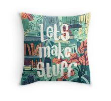 Let's Make Stuff Throw Pillow