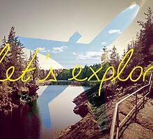Let's Explore: Vuoksi Dawn  by AlexPrints