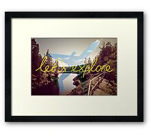 Let's Explore: Vuoksi Dawn  Framed Print