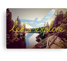 Let's Explore: Vuoksi Dawn  Canvas Print