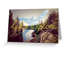 Let's Explore: Vuoksi Dawn  Greeting Card