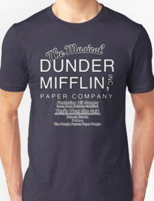 Dunder Mifflin, Inc (The Musical) Unisex T-Shirt