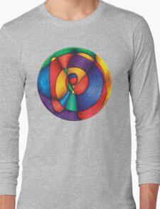 Fiesta Mandala Full-Color T-Shirt Long Sleeve T-Shirt