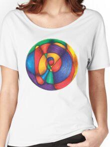 Fiesta Mandala Full-Color T-Shirt Women's Relaxed Fit T-Shirt