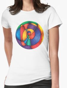 Fiesta Mandala Full-Color T-Shirt Womens Fitted T-Shirt